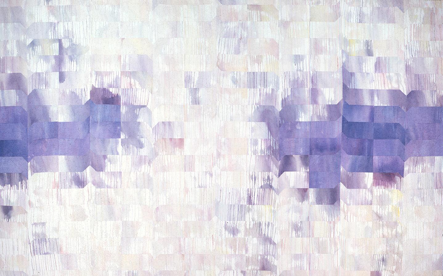 "Wet Sunday         Acrylic on canvas       72"" x 114""     1967"