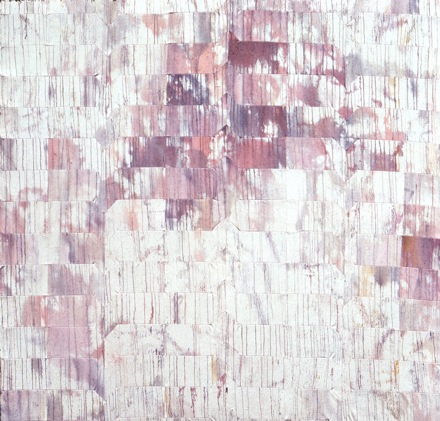 """Approach        Acrylic on canvas        80"""" x 80""""       1967"""