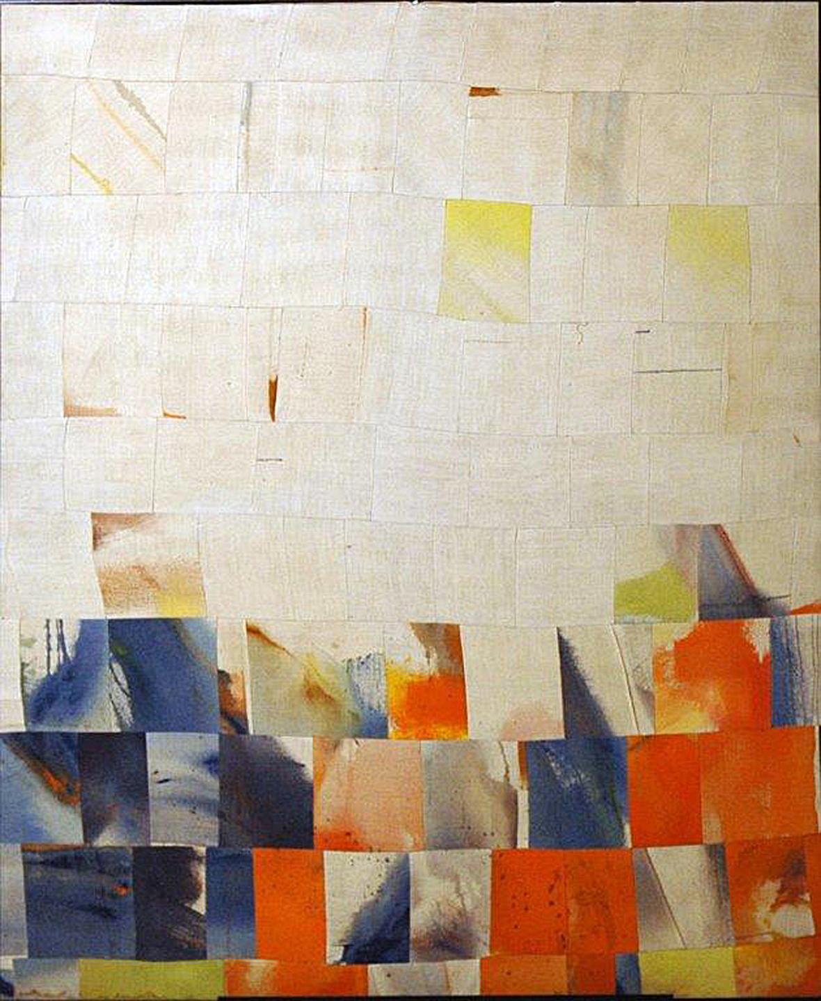 "Gravity         Acrylic on canvas        74"" x 60""        1967"