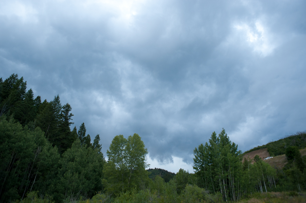 The impending storm