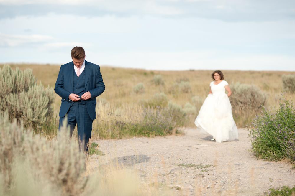 Ashton Wedding photographer Teton Dam