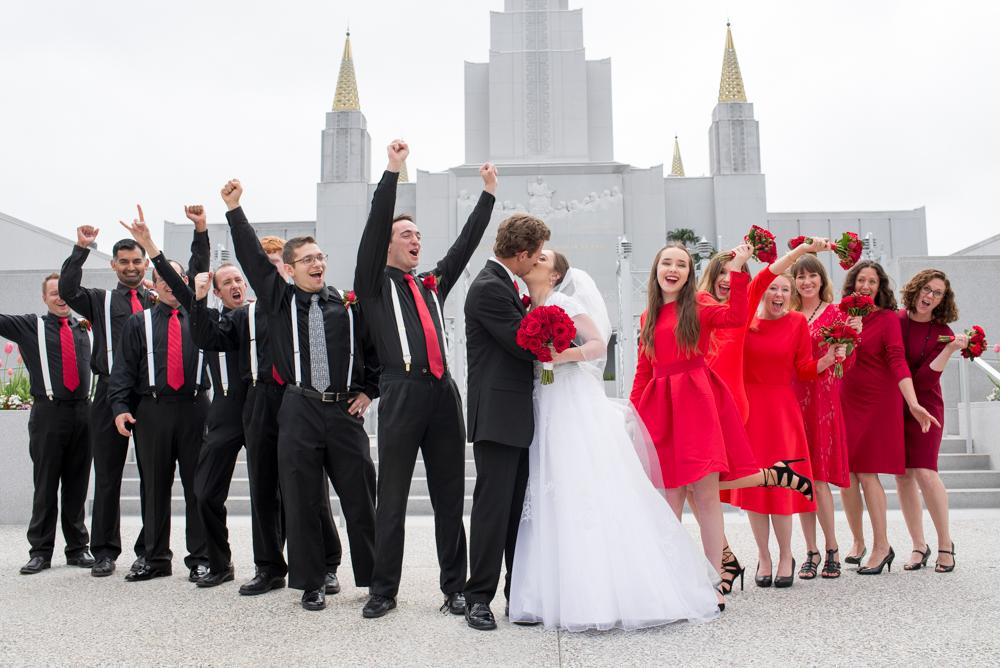 Oakland Temple Wedding Photographer