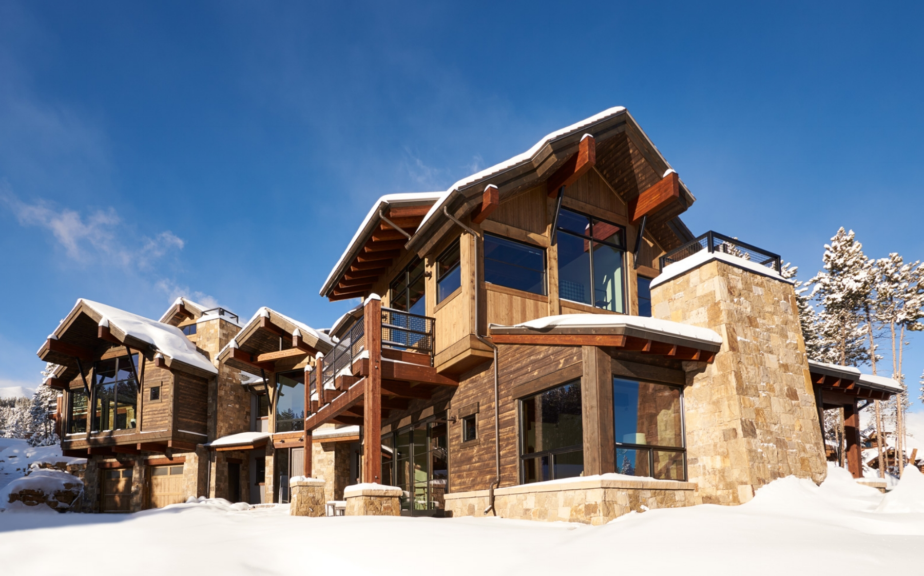 328 Design interior design custom home built in Breckenridge, CO material design and selection