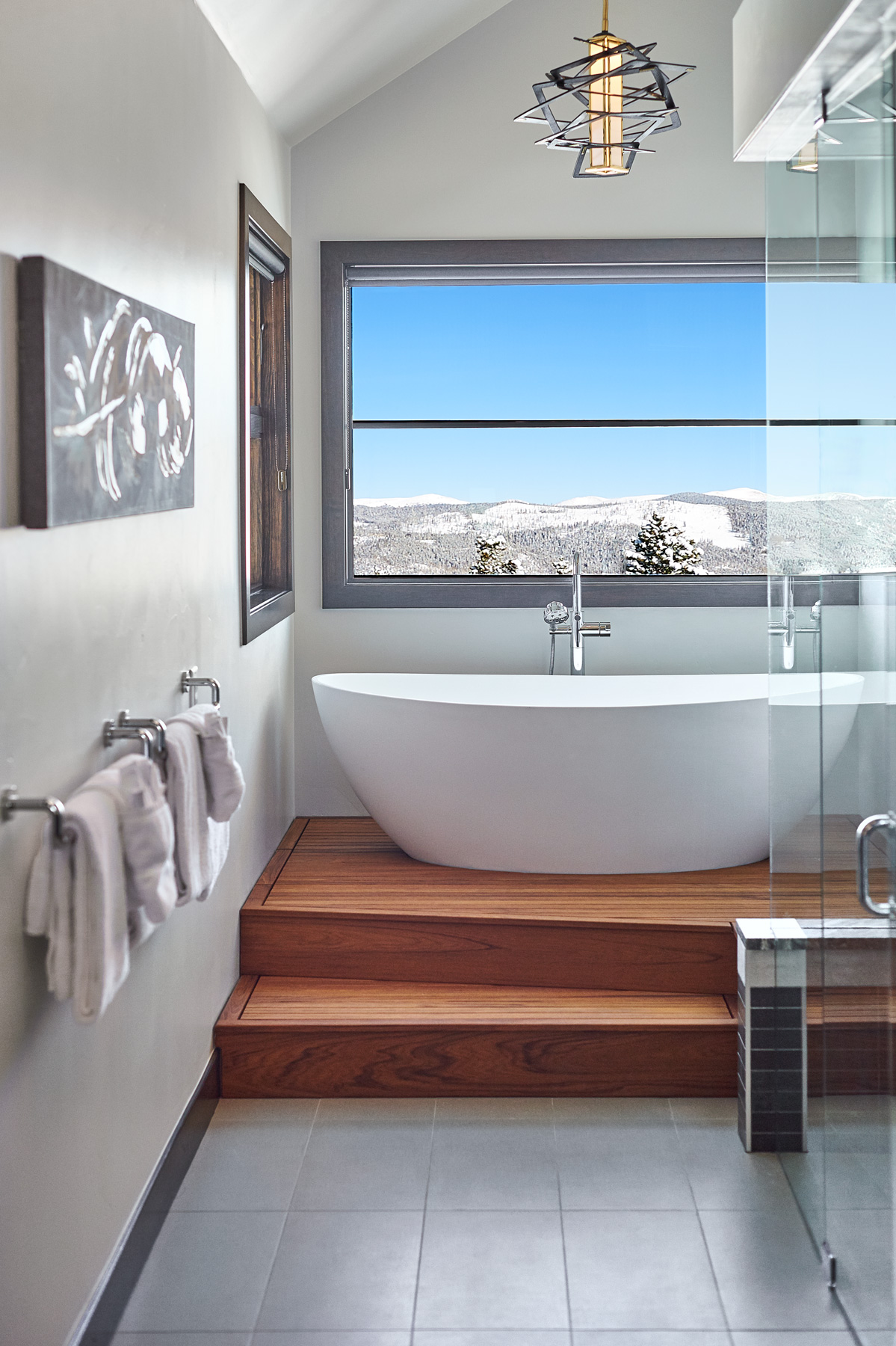Freestanding bathtub mountain glass shower view.jpg