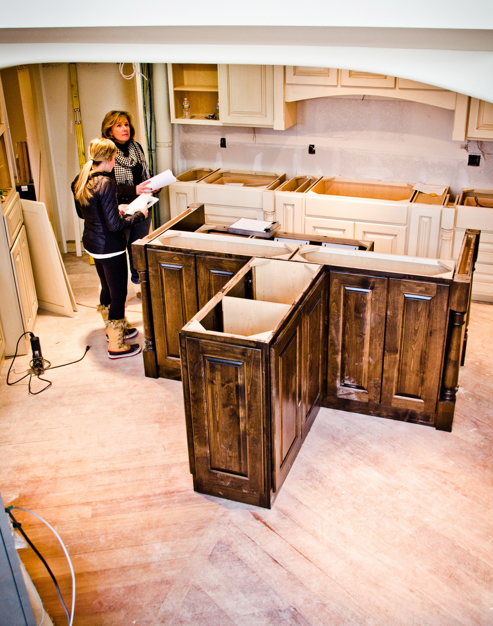 328 Design Group construction Parker kitchen cabinets