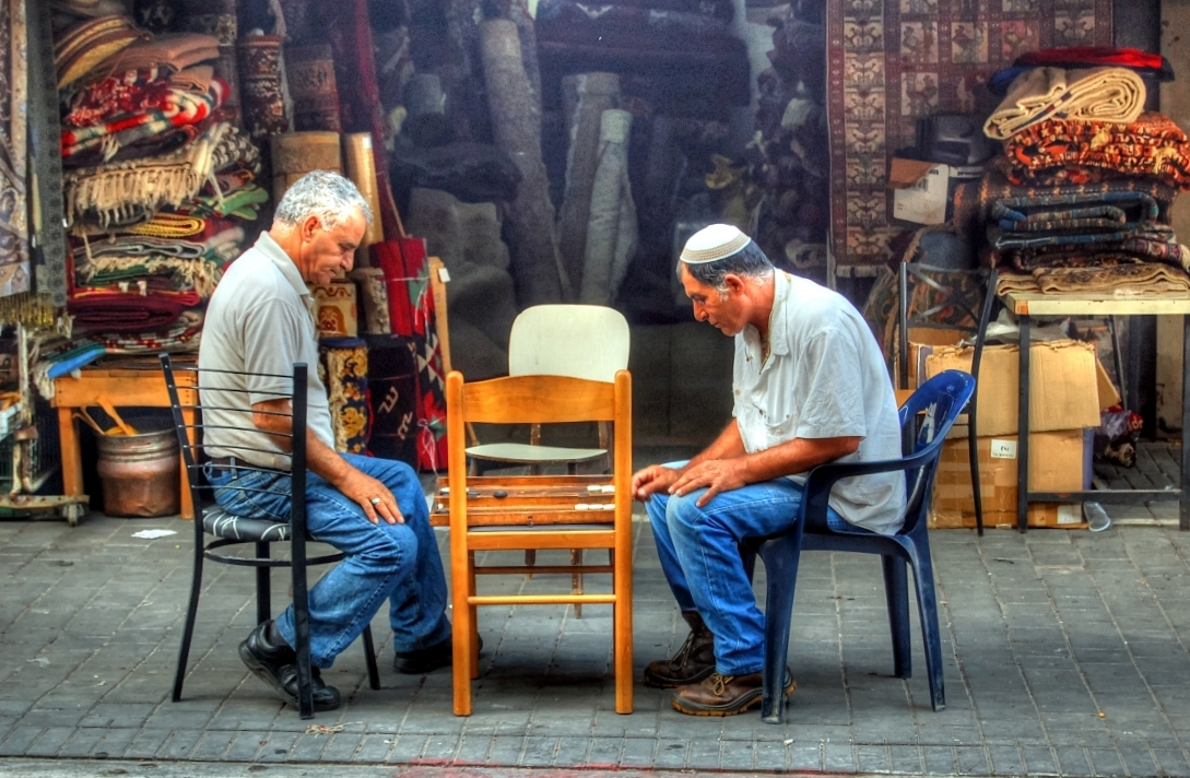 The Game. Jaffa, Israel.