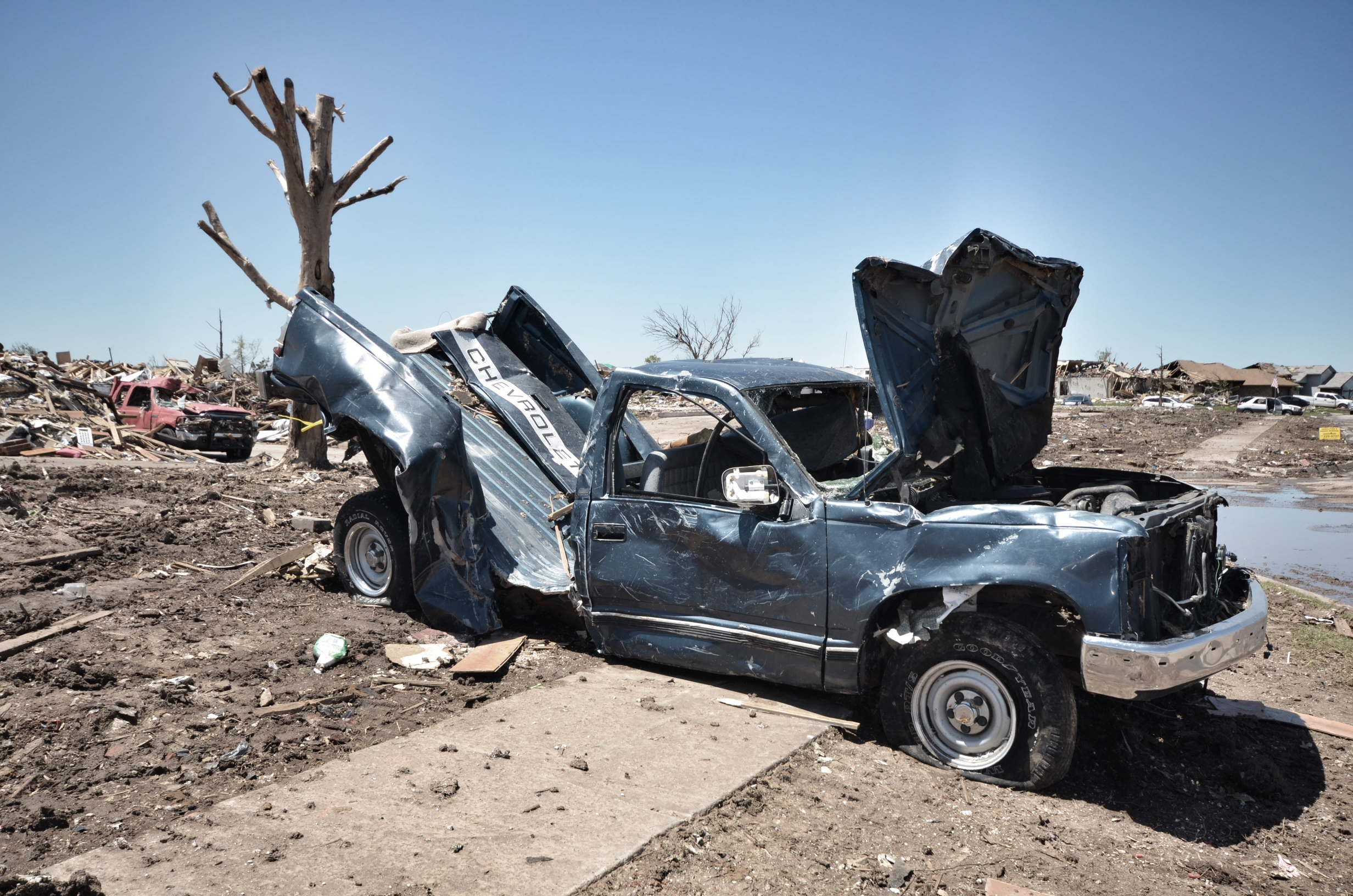 Moore, Oklahoma Tornado Damage