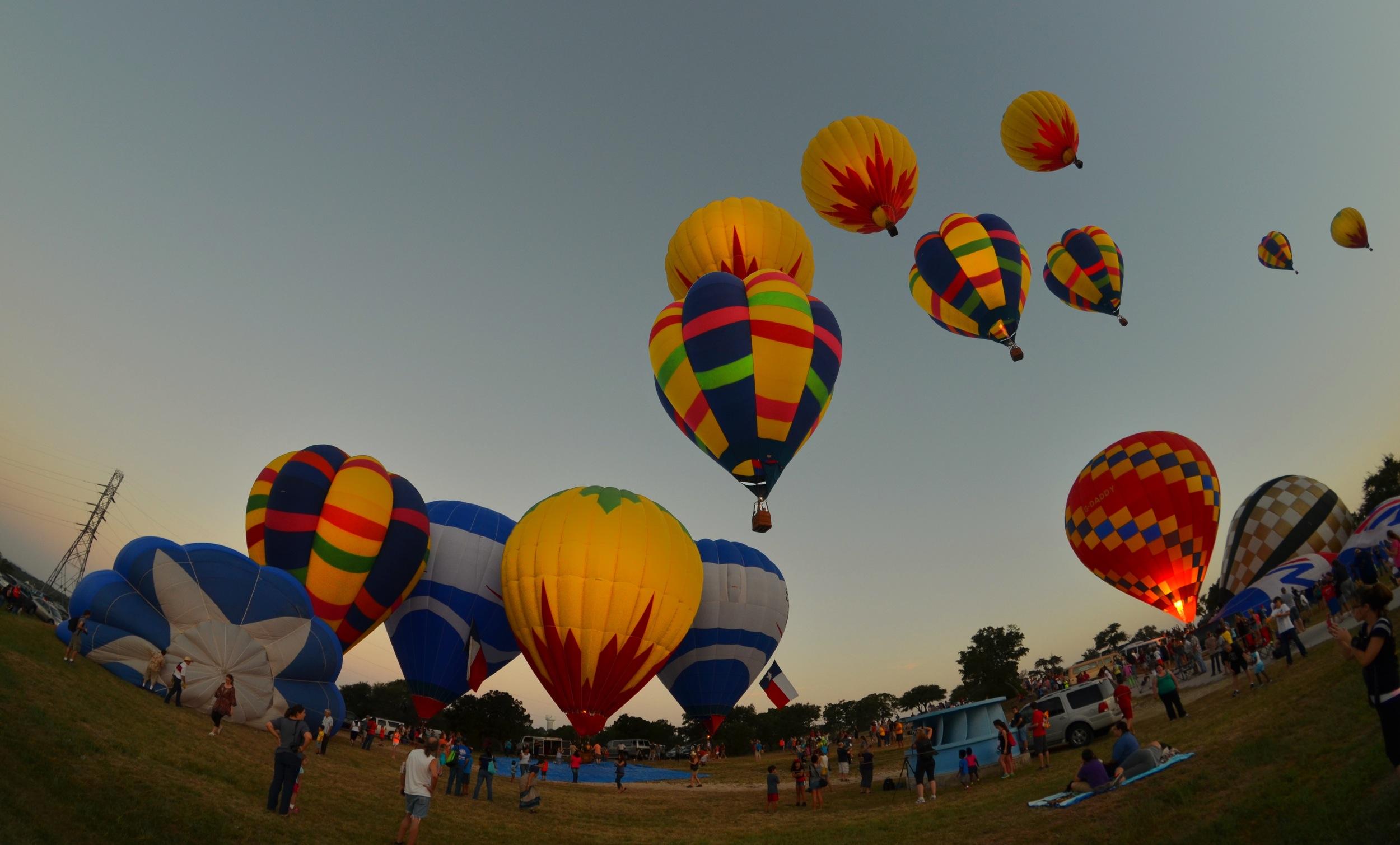 Dawn Departures - Hot Air Balloons in Austin, Texas