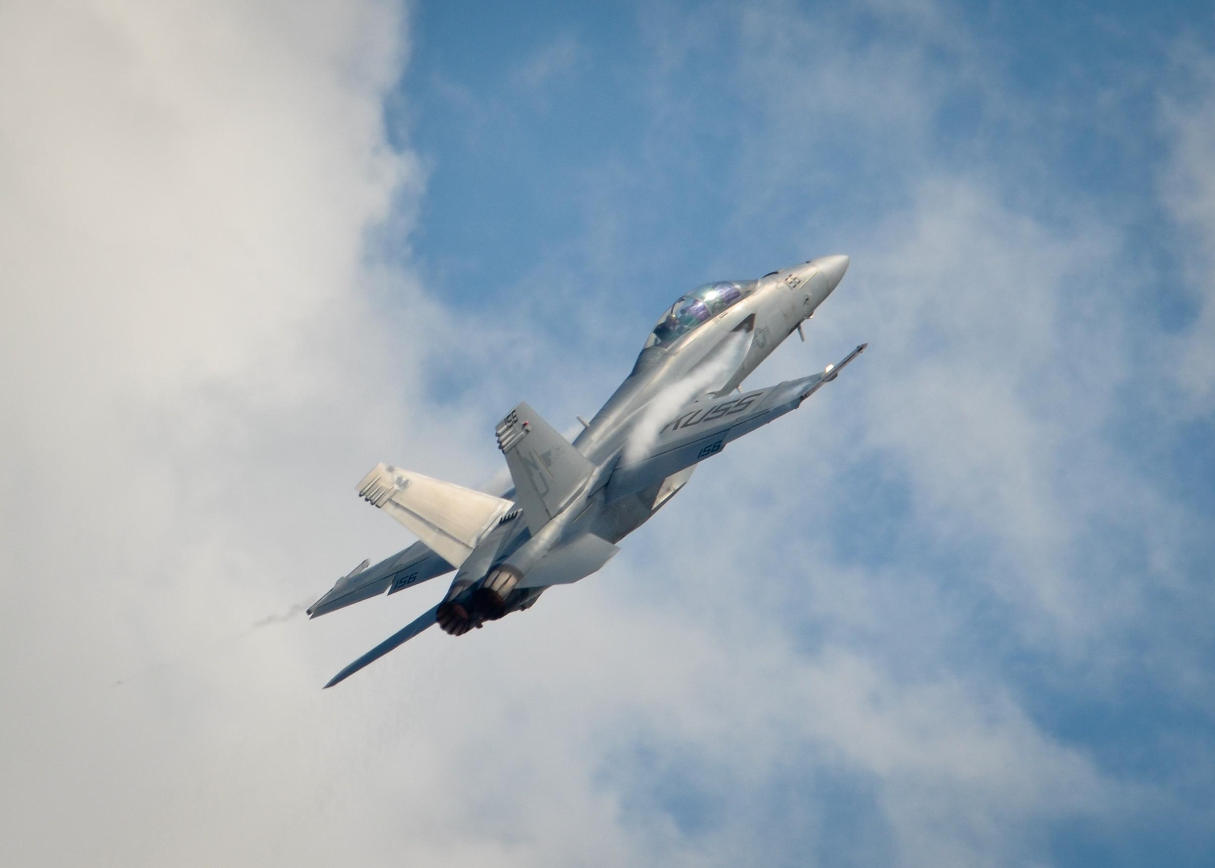 F-18 Hornet High Speed Pull-Up
