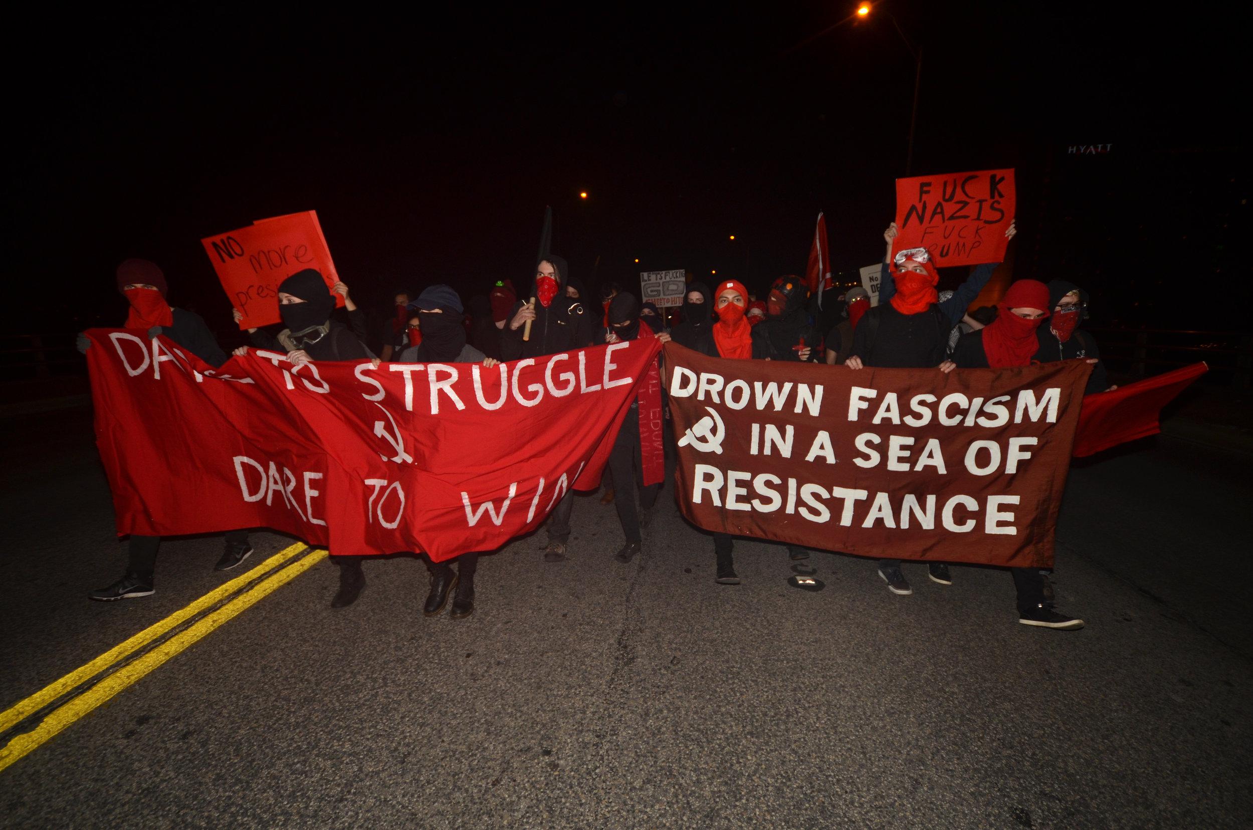 Anti-Trump Protest in Austin, Texas (January, 2017)