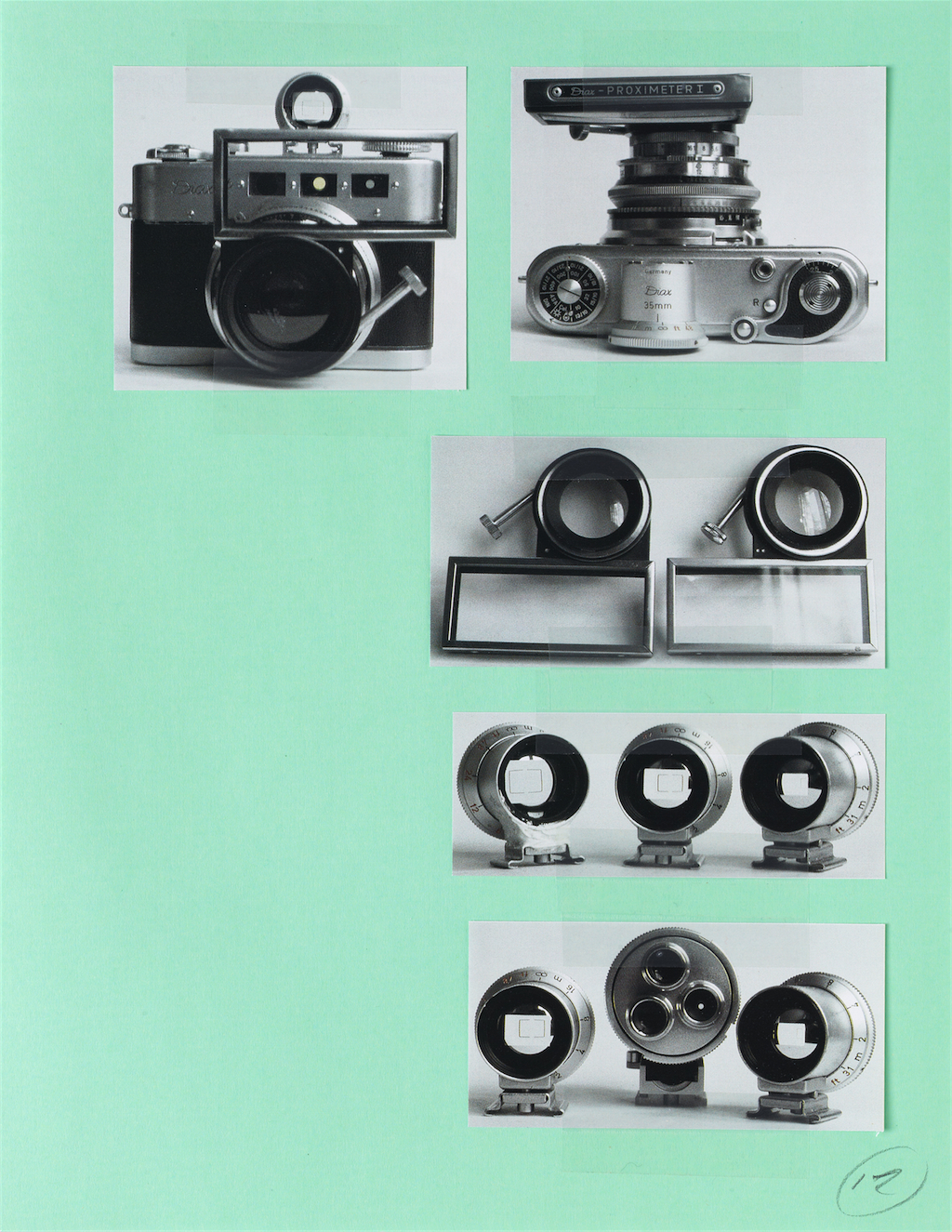 Christopher Williams. Supplement '13 (Mixed Typologies) #3 [detail].