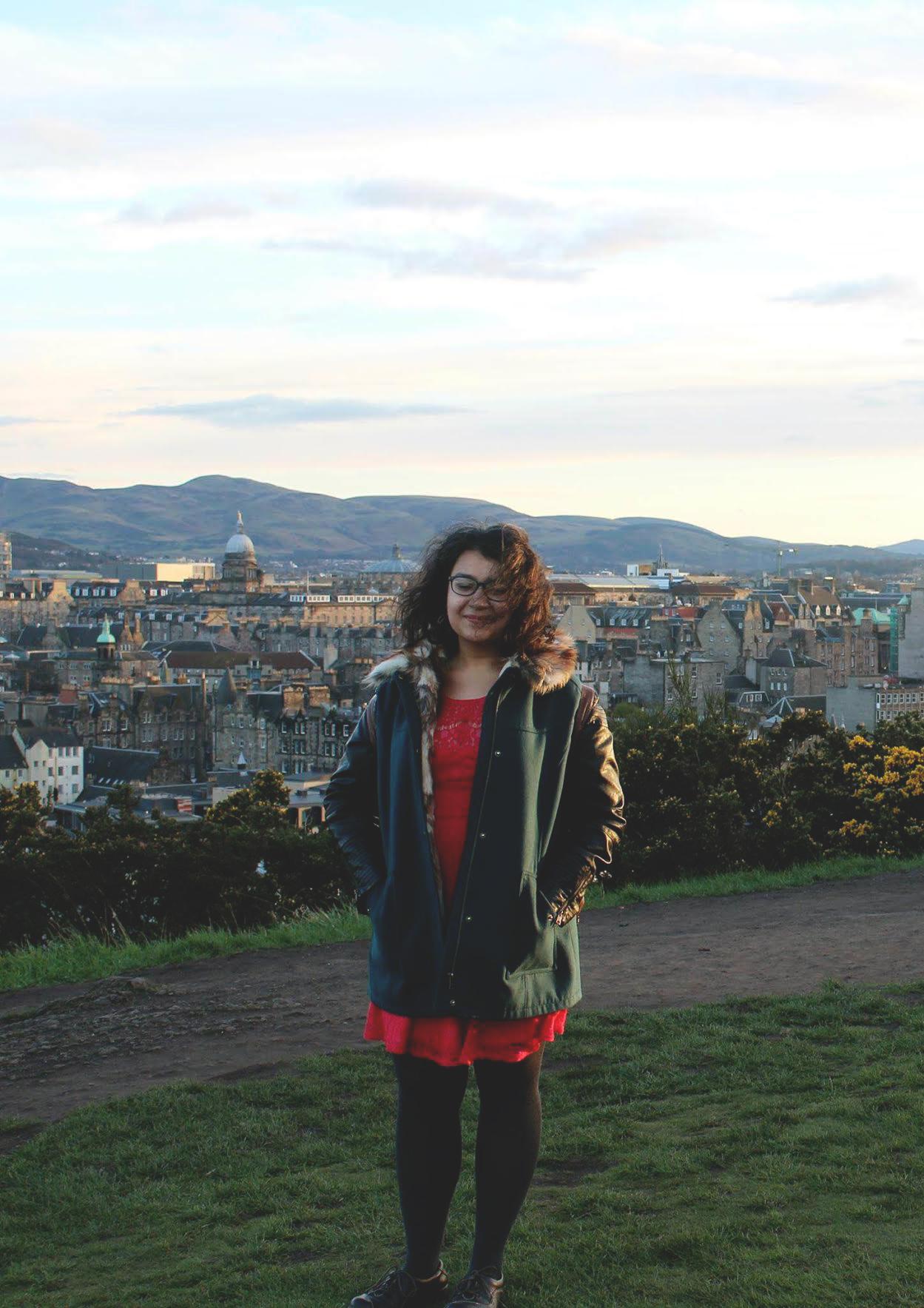 Ayesha Raees in the UK