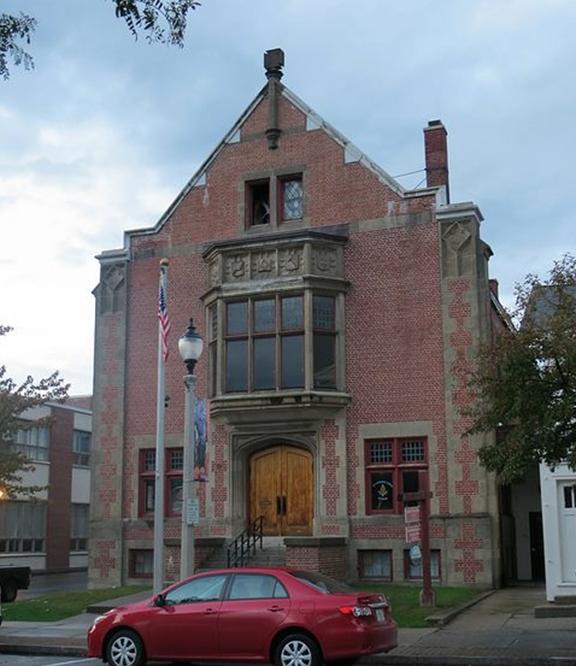 The Masonic Lodge at 504 Main Street in Bennington (Image from Google)