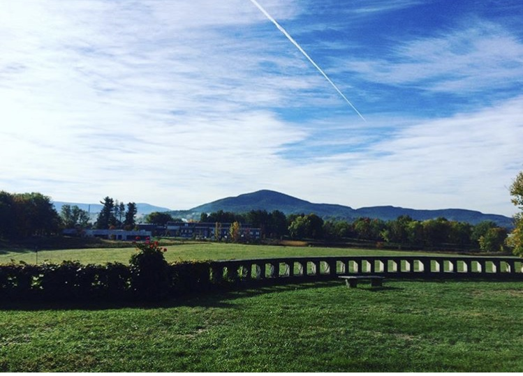 Bennington College view from Jennings . Courtesy Nam Phuong Doan '18.