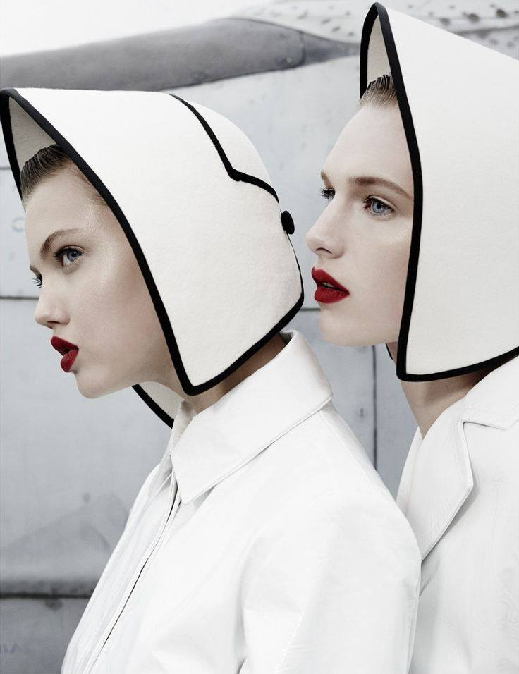 Lindsey Wixson and Ashleigh Good for W Magazine
