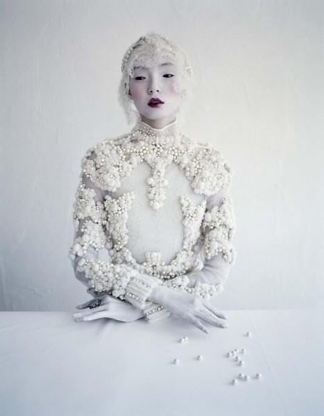 Photographer: Tim Walker   Model: Xiao Wen   Givenchy Haute Couture