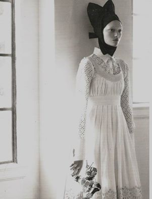 Model: Gemma Ward   Photographer: Steven Meisel   Vogue Italia