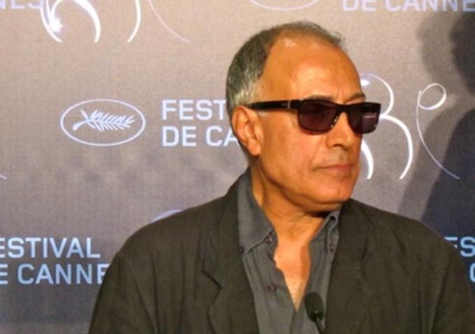 Iranian filmmaker Abbas Kiarostami in Cannes