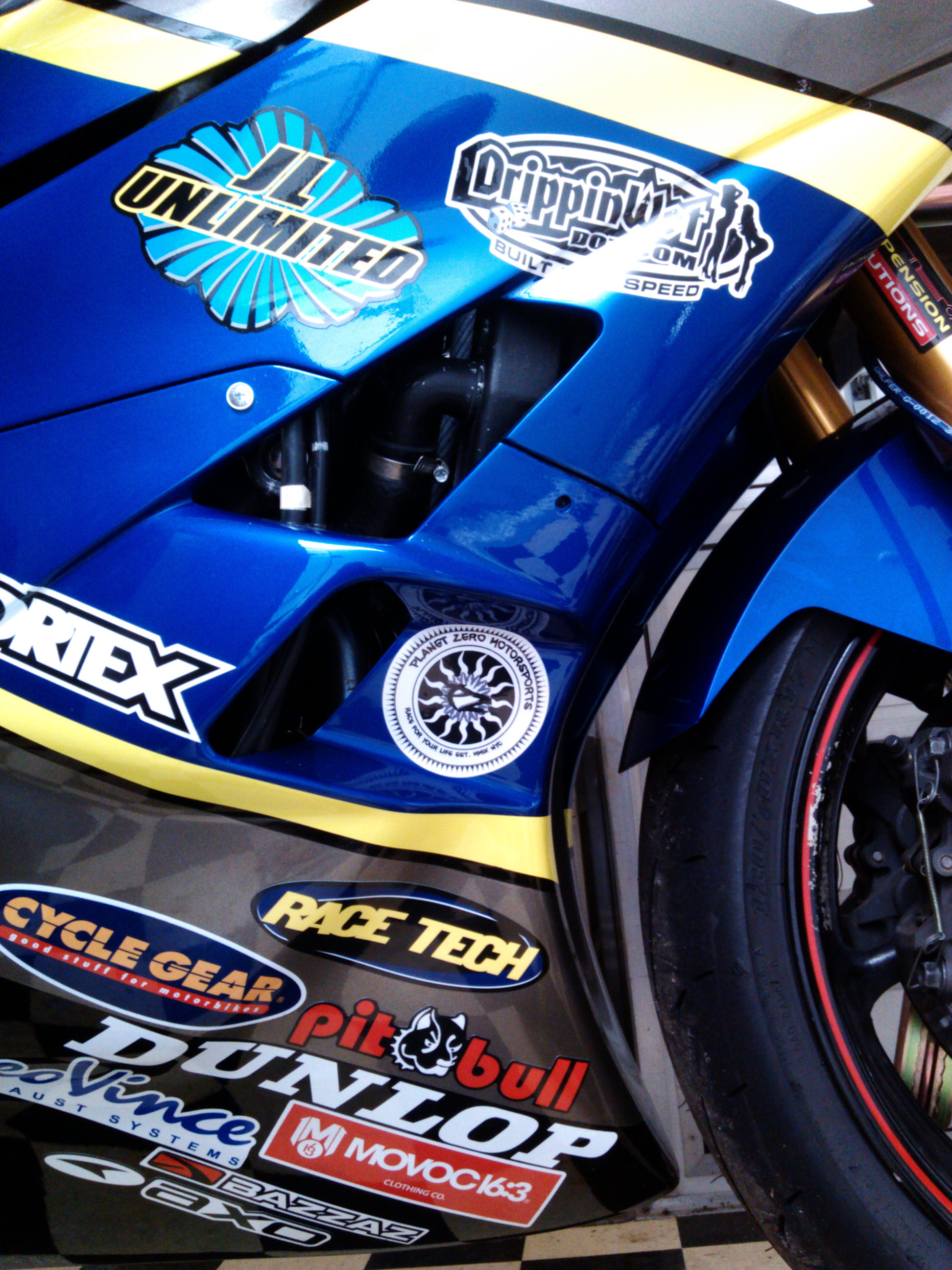 Planet Zero Motorsports is pleased to annouce our first sponsored rider Jordan Long of JL Unlimited. AMA Circuit Motorcycle Racer