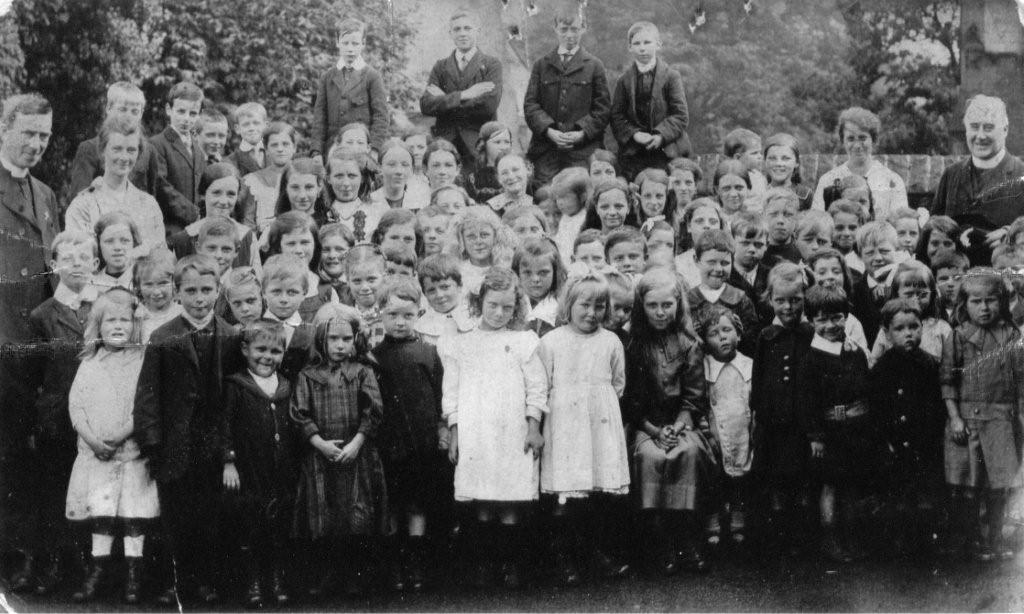 Parish past 11 St Catherines School children 2.JPG