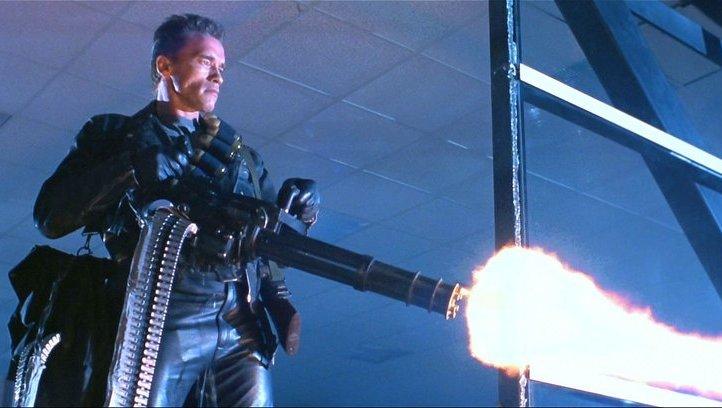 Terminator's weapon of choice