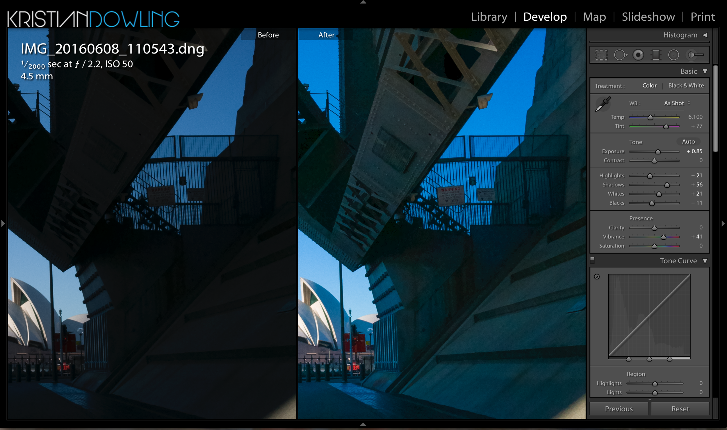 Lots of shadow detail to be found under the shadows of the DNG file