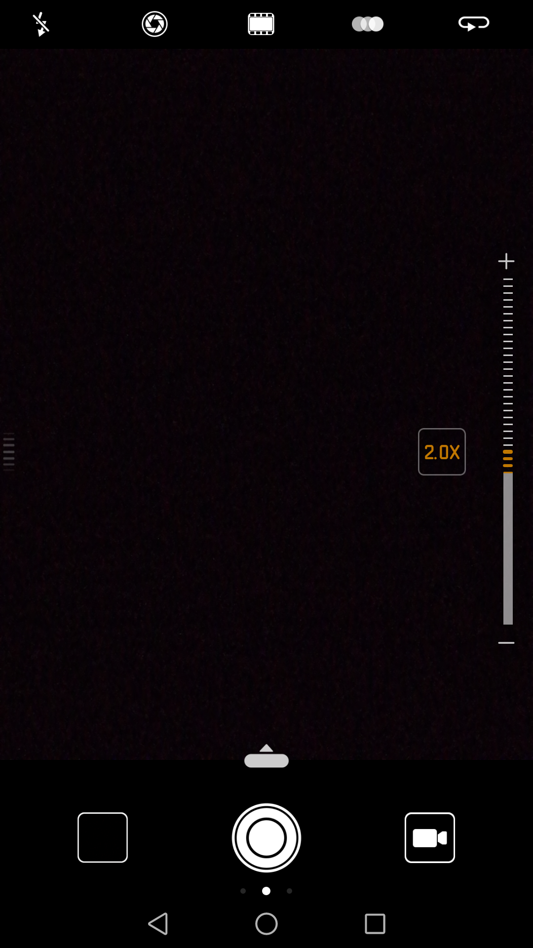 Up to 2x Hybrid zoom is indicated by the solid line. the broken line is where digital zoom starts.
