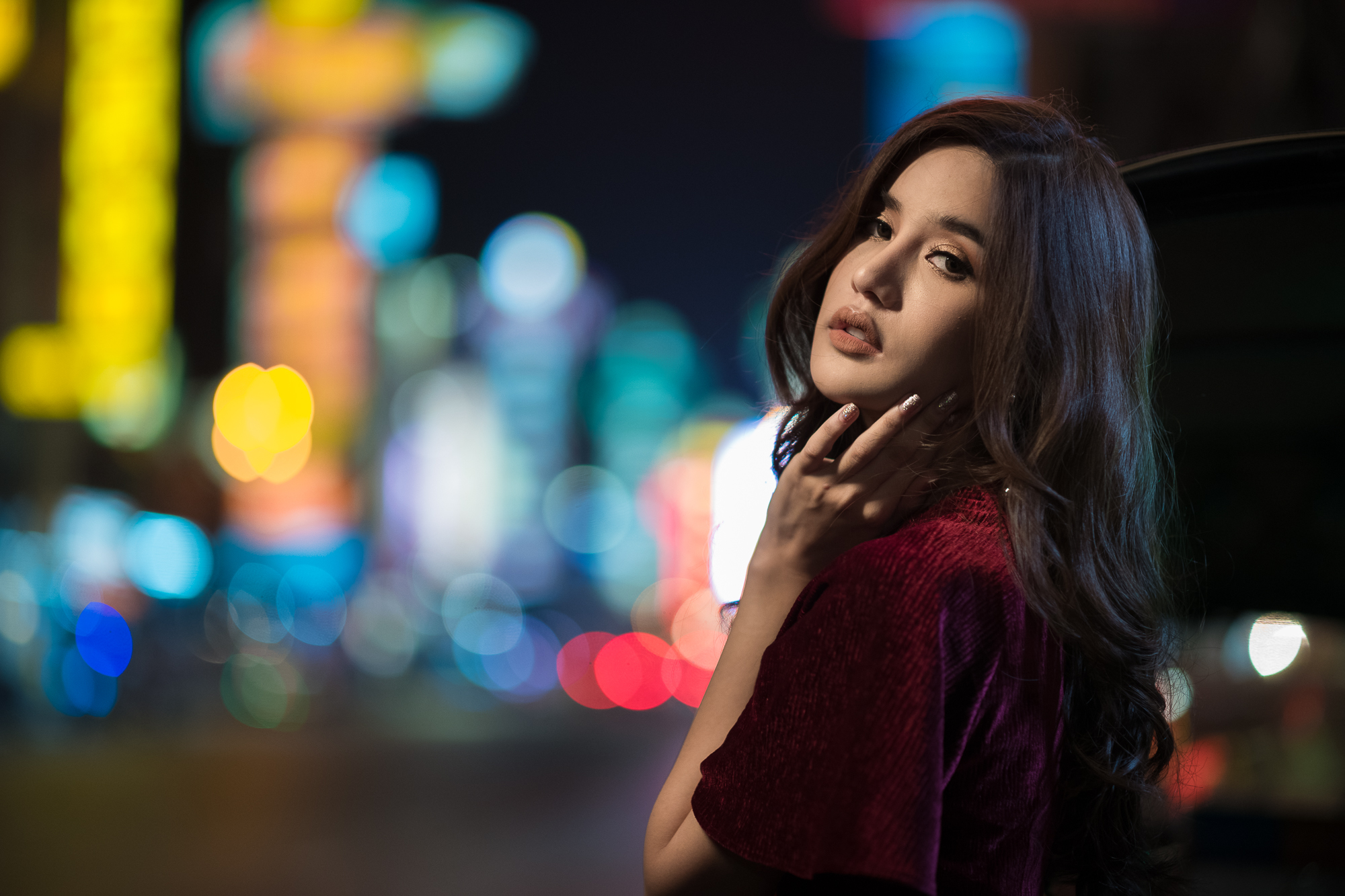 Demonstration picture from Leica Akademie Thailand Noctilux Low Light Workshop in Bangkok, Thailand. Shot at f/1.25 on Leica SL