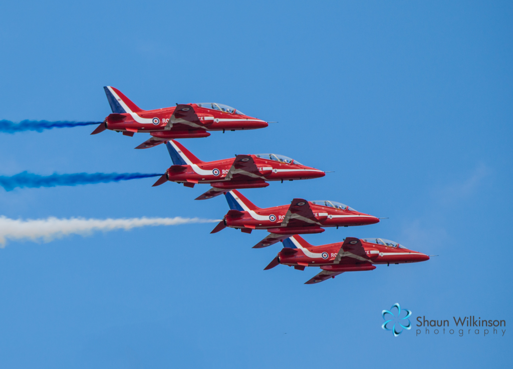 Red arrows by shaun wilkinson photography