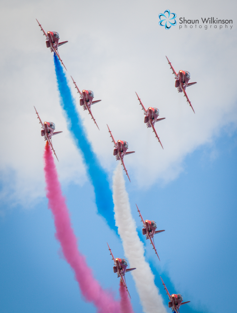 Yet more red arrows