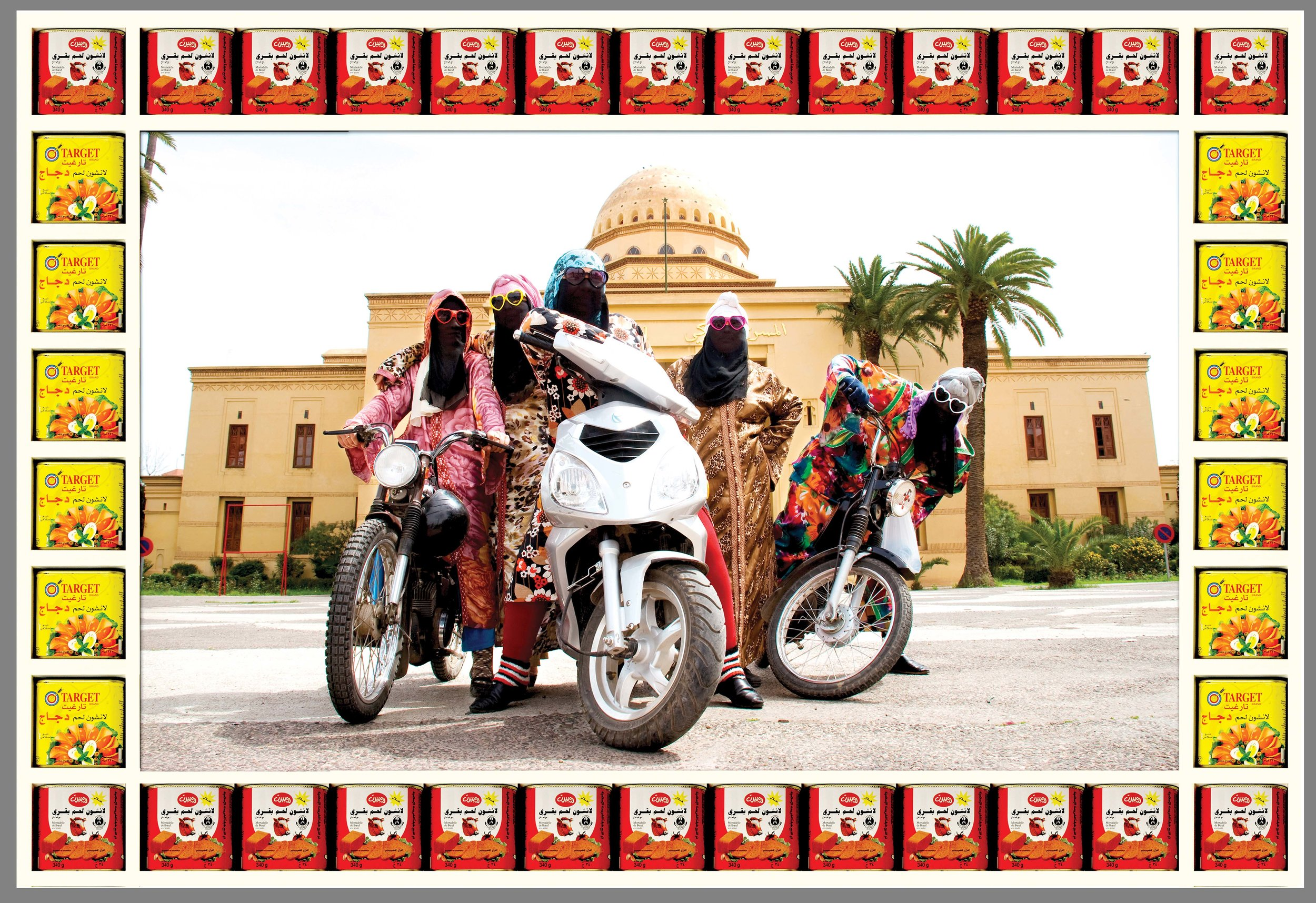 Kesh Angels, photograph by ©Hassan Hajjaj, courtesy of the artist and Vigo Gallery
