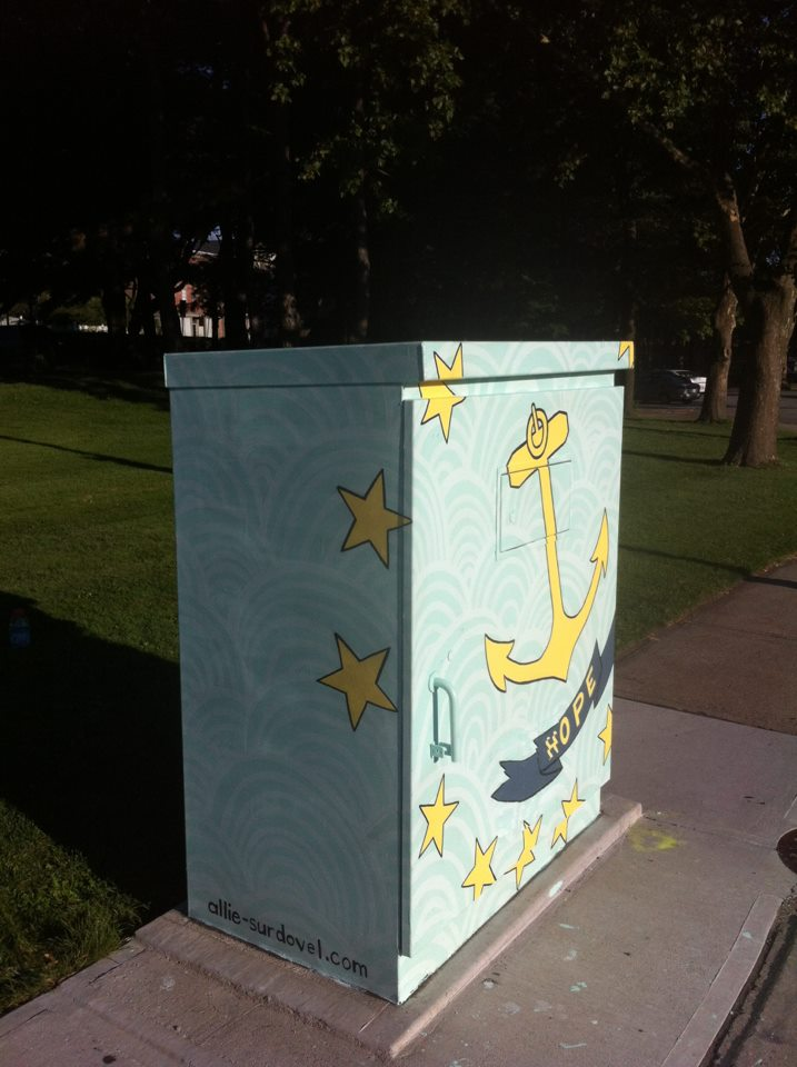 """""""Hope"""" Smith and Canal St.s Transformer"""
