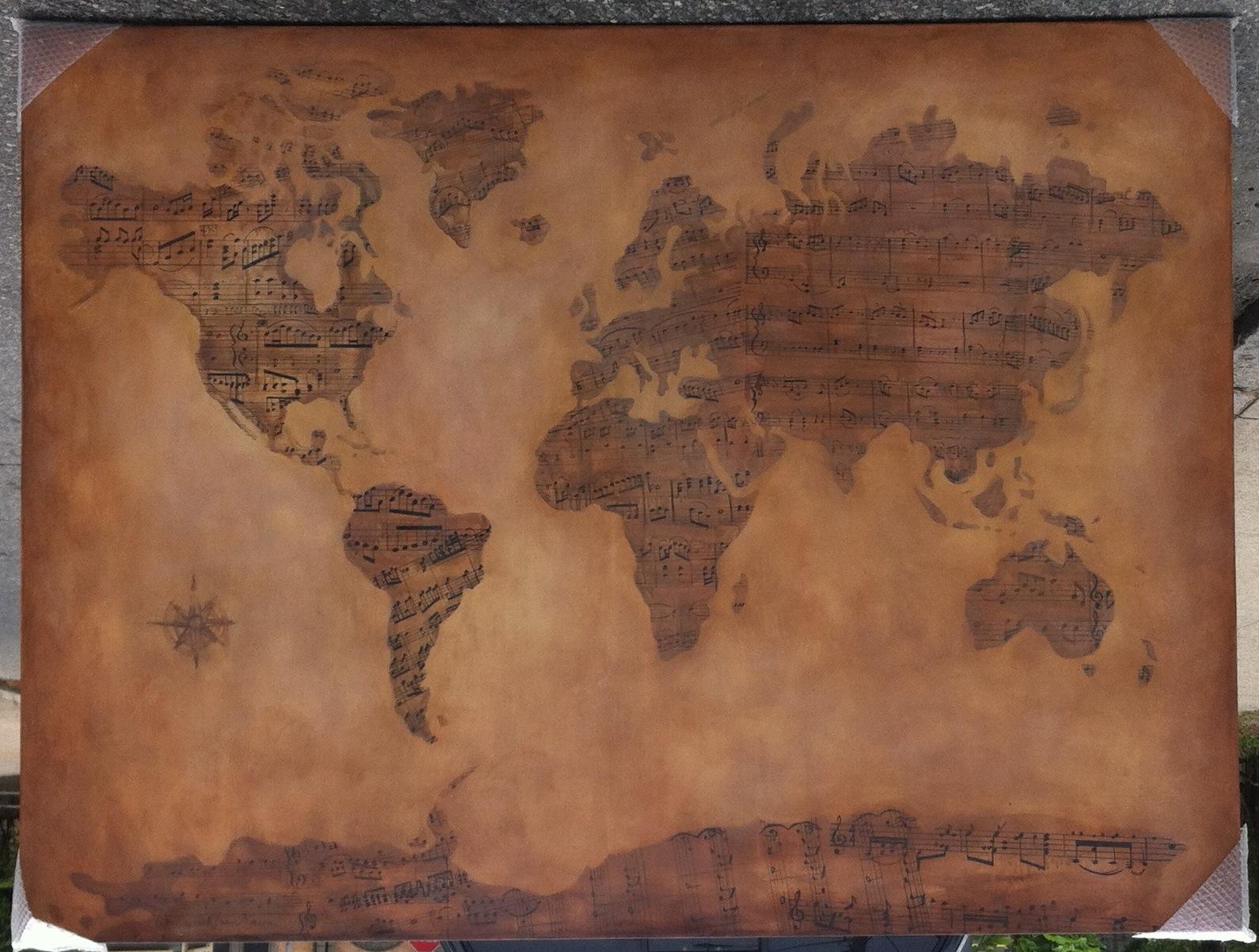 G-Adventures' Music Map