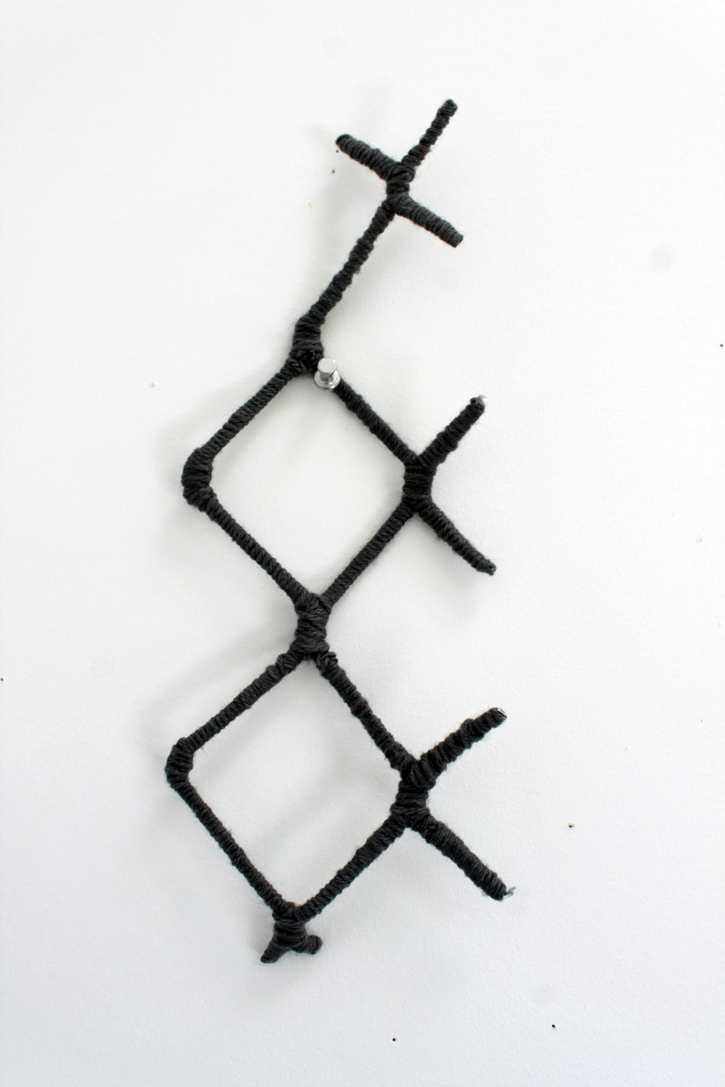 Chain-link 4, fragment, 2014