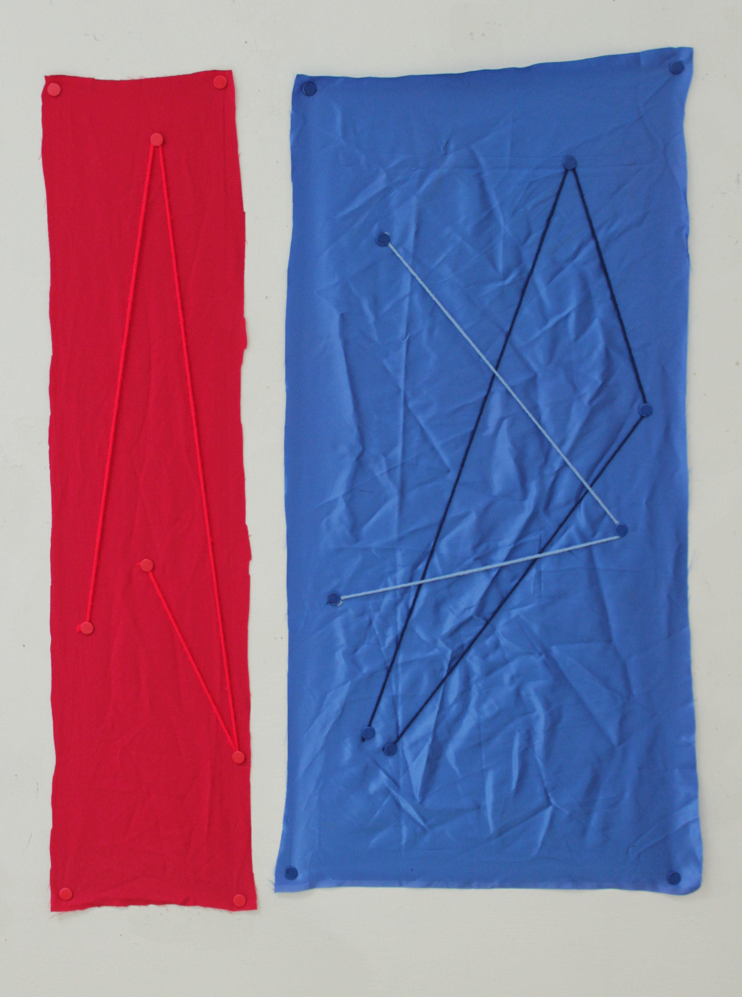 Three Point Series, Red and Blue