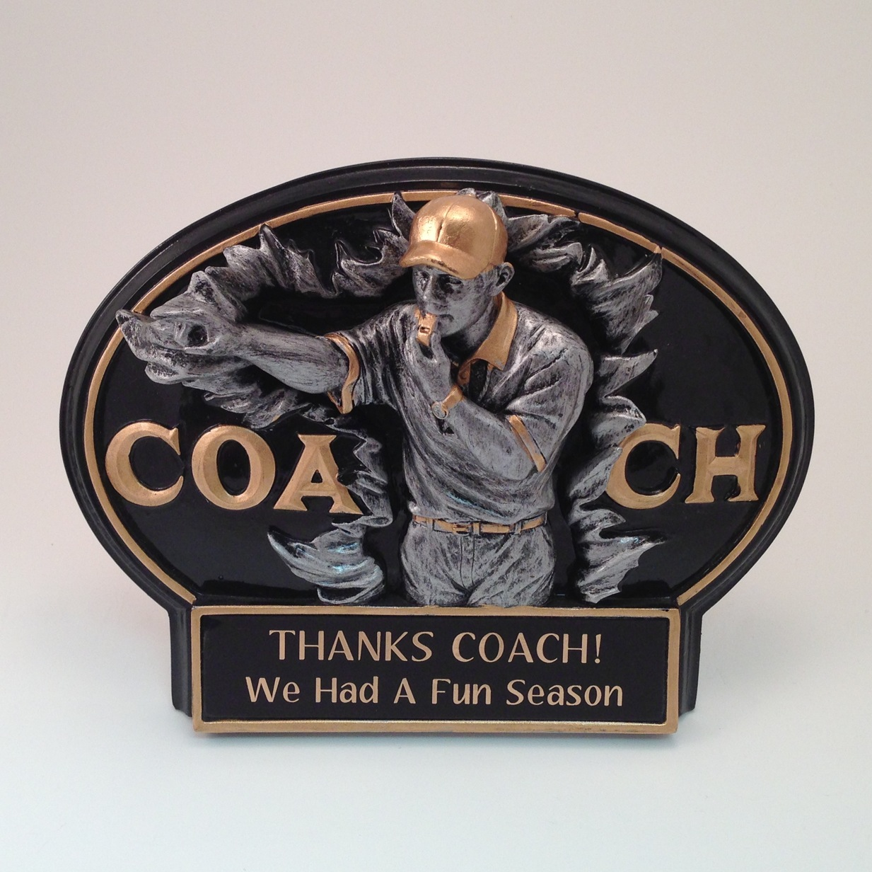 Coach Award -$18.75 each (Includes tax & engraving). [ITEM#:  14COACH ]