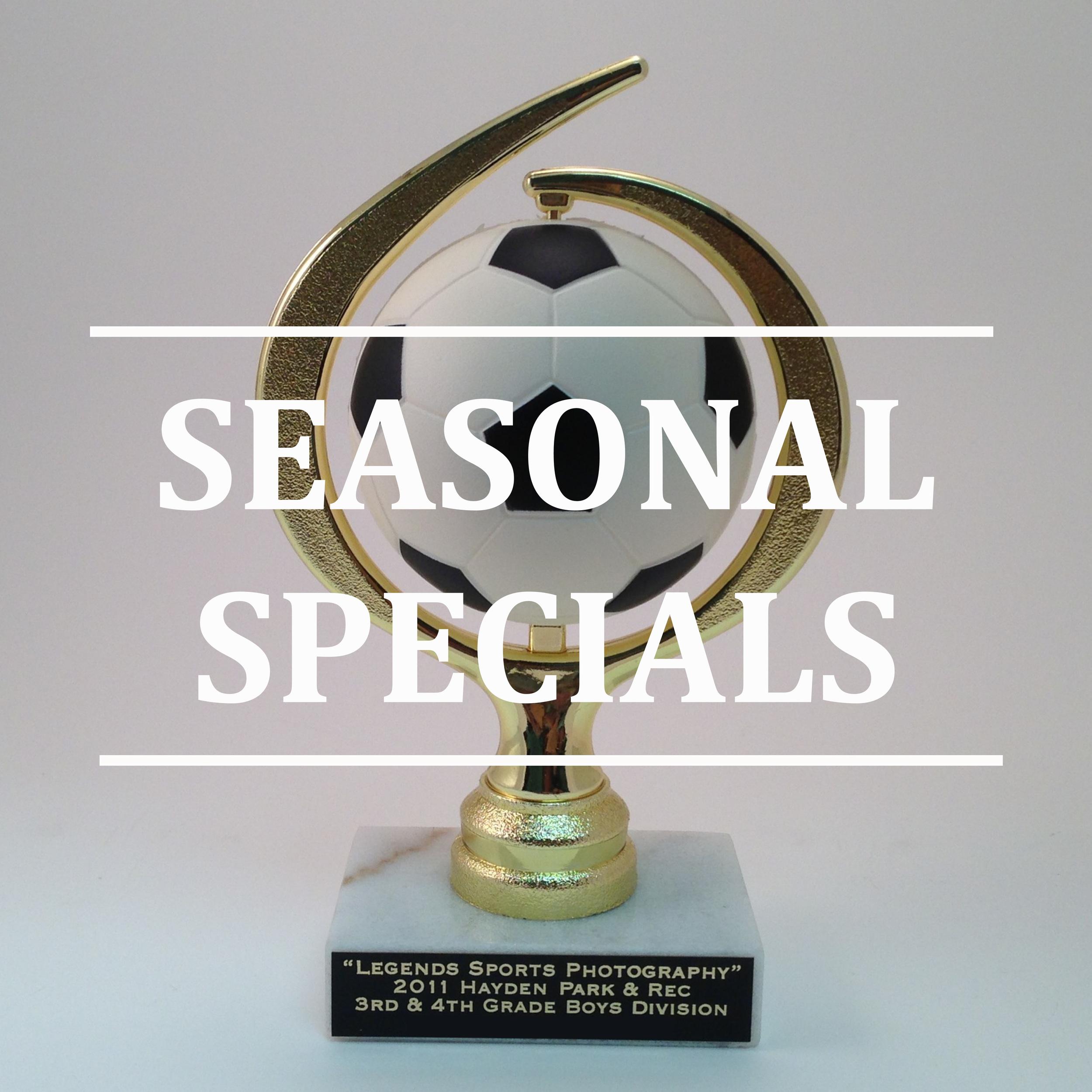 Seasonal Sports Specials