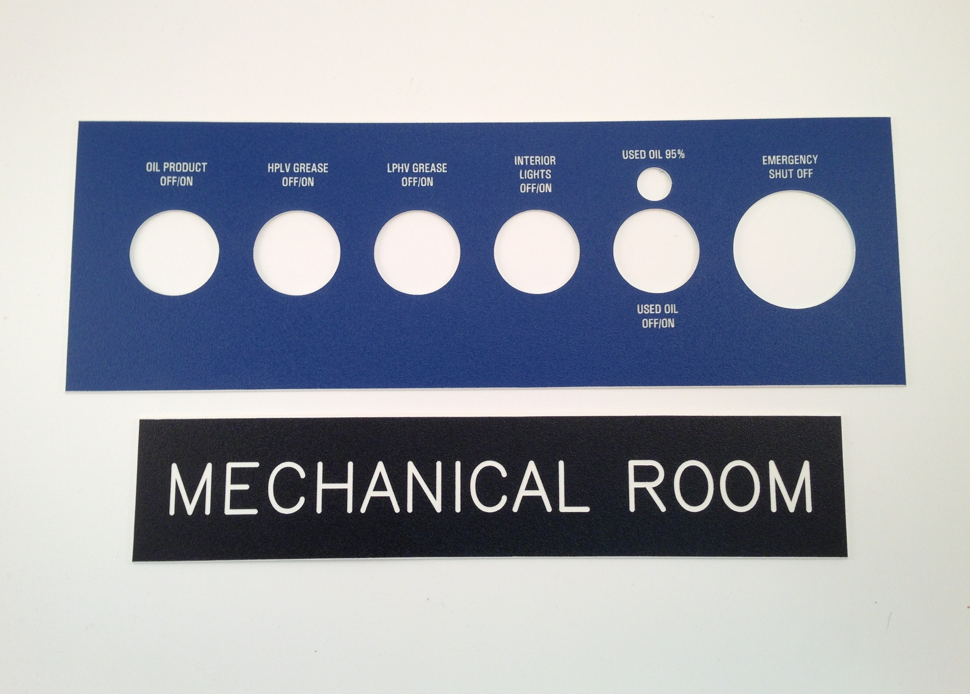 Custom Control Panel Configurations. Room Nameplates and Door Plates.