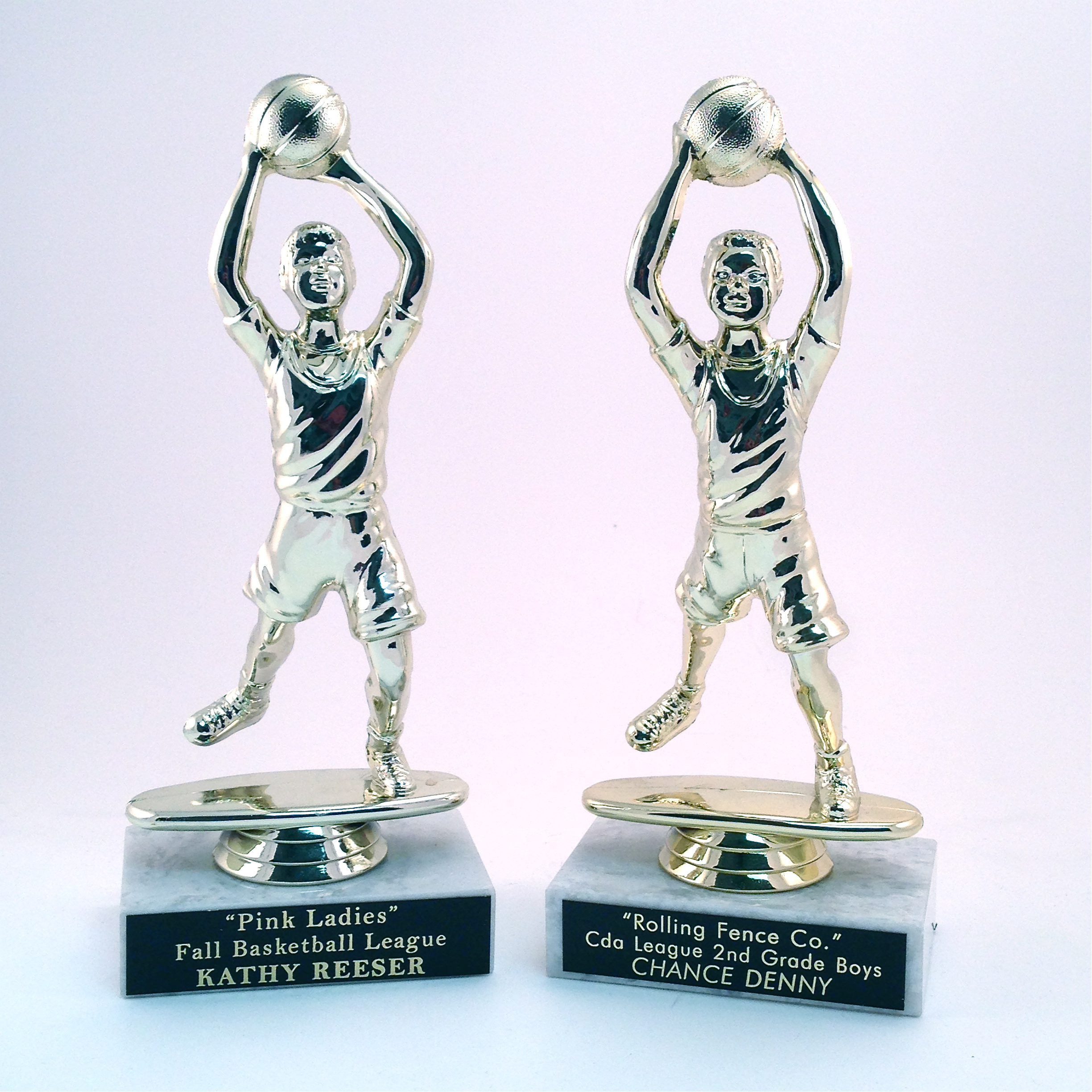Premium Figure on a Marble Base -  $7.16 each  (Includes tax & engraving) Specify Male or Female. [ITEM#:  14K ]