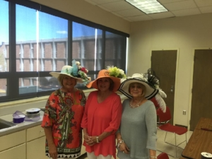 Our friends did a wonderful job creating their own special hats for Derby Day!