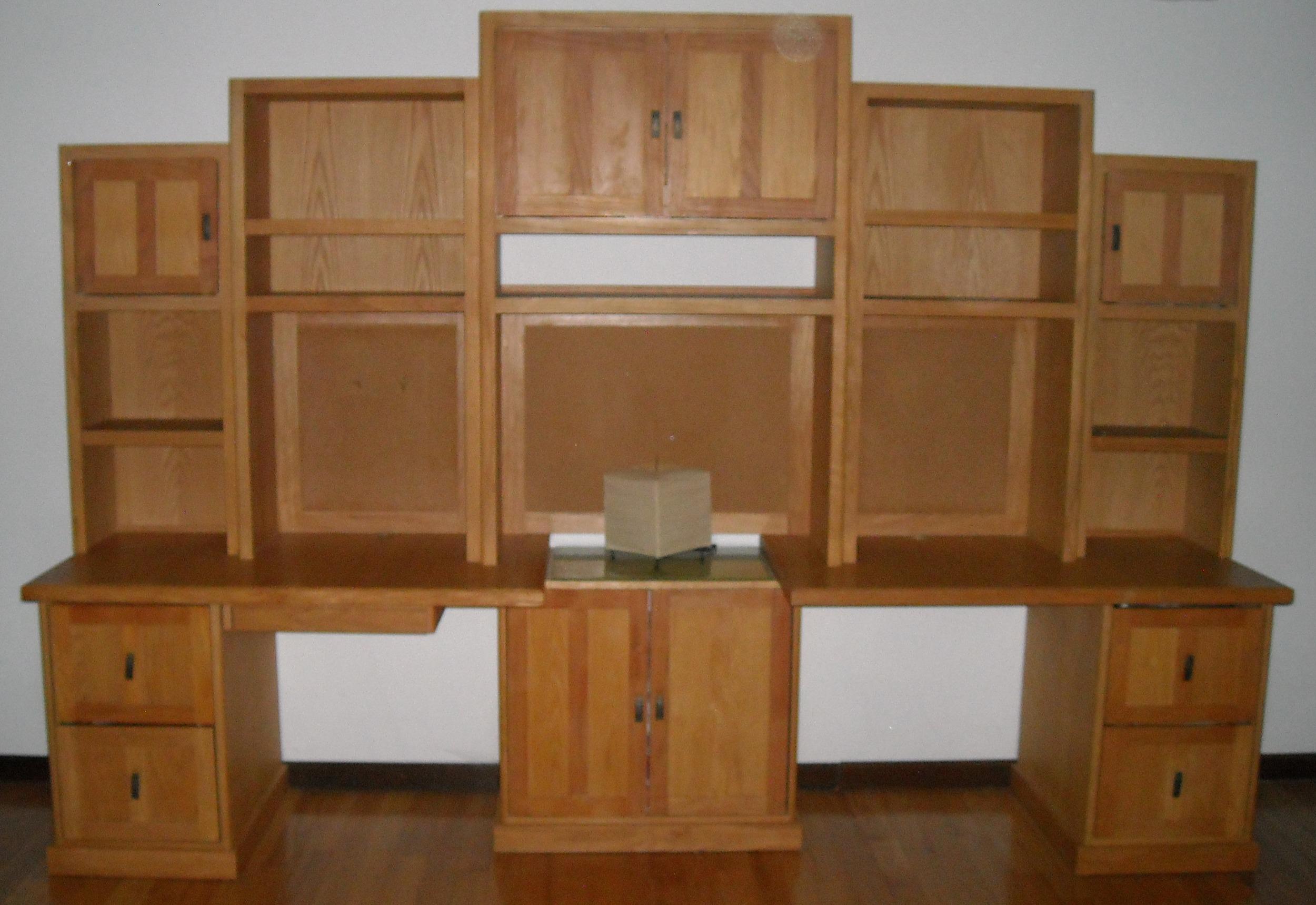 Creative example of modular wall unit .