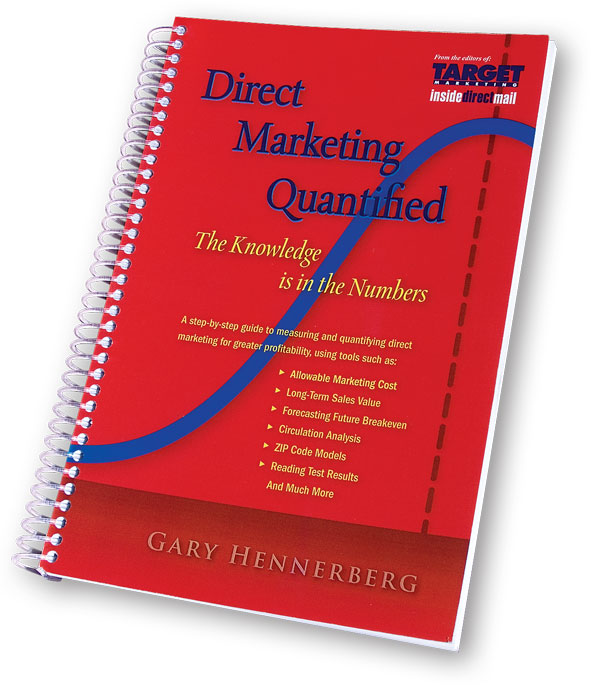 Direct Marketing Quantified Click to enlarge.