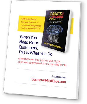 Free E-BooK: When you Need More Customers, This is what you do