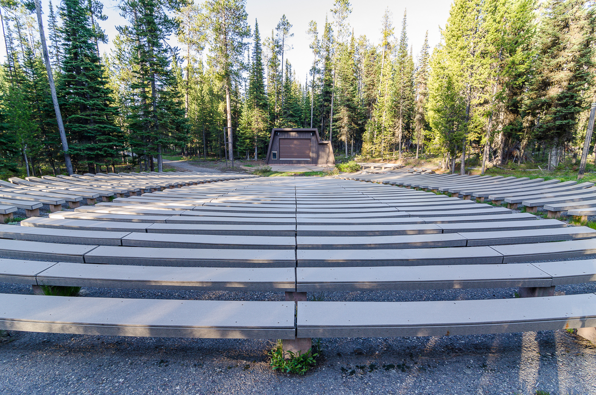 Campfire ranger programs have been cancelled for the 2013 year. This amphitheater will remain empty this year.