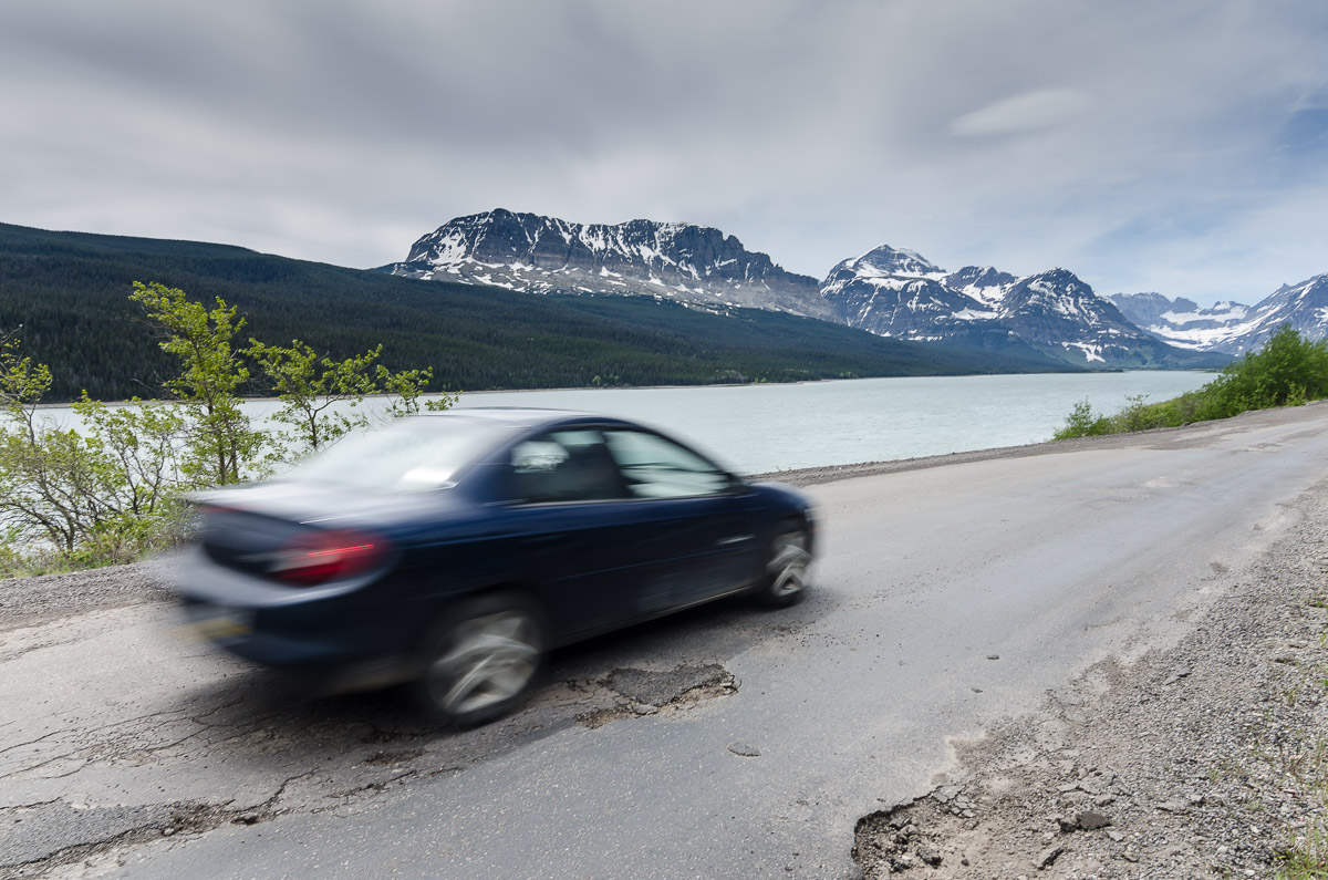 According to the NPS website over 90% of roads in the national parks are in poor or seriously deficient condition.