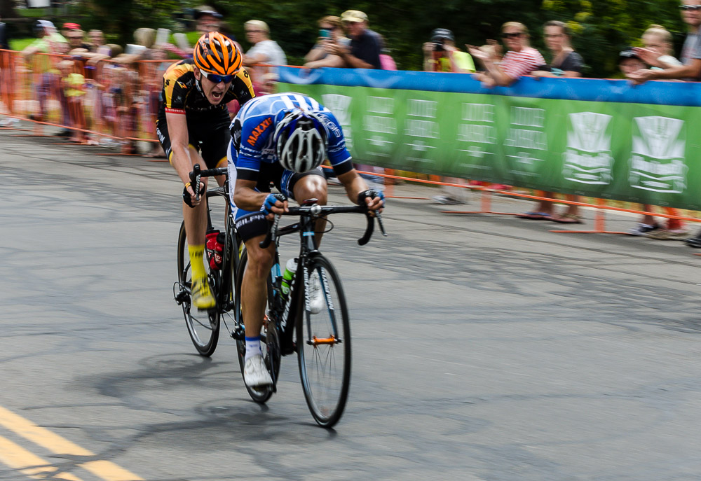 These guys are really giving it their all at the Tour of Utah