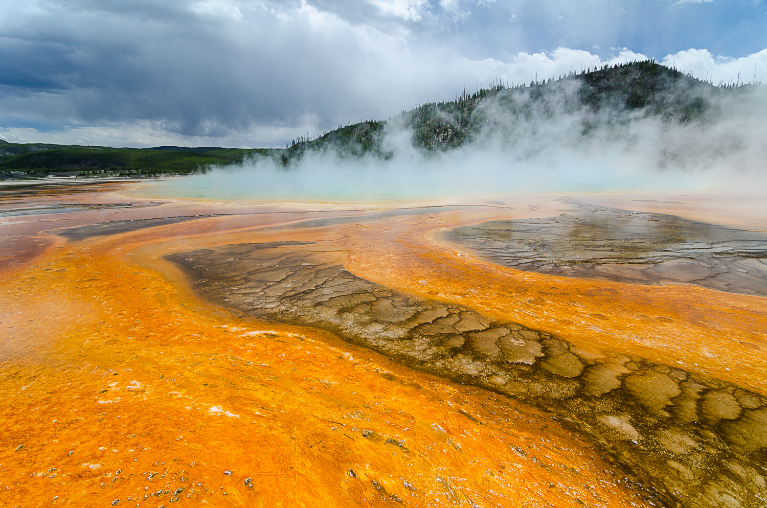 Grand Prismatic Pool, Yellowstone