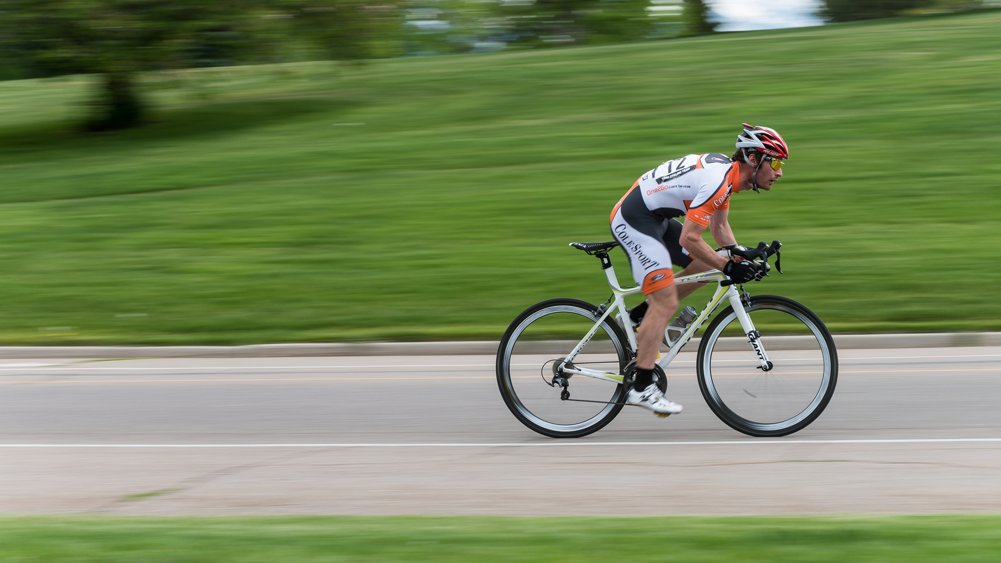 A panning image can be a great way to show speed