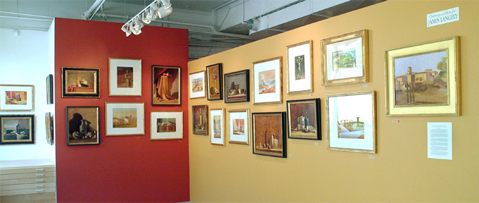 Langley Art in Gallery