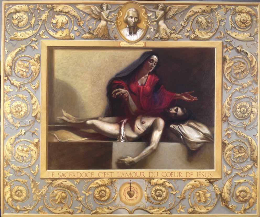 "Langley,  Dolorosa , oil on canvas 60""x72"""